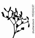 mistletoe   Shutterstock .eps vector #95324137