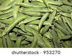 pea in the supermarket | Shutterstock . vector #953270