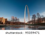 Gateway Arch And Saint Louis...