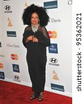 Diana Ross At The 2012 Clive...