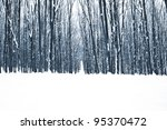 Forest Trees Nature Snow Wood...