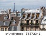 Classic Cityscape Of Paris...