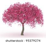 3d Render Peach Blossom No...
