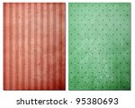 Abstract background  textured on old paper - stock photo