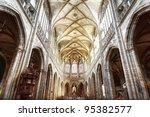 Interior Of St. Vitus Cathedra...
