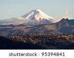 Cotopaxi Volcano  Ecuador.