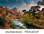 zion and the | Shutterstock . vector #95416519