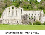 Ruins Of Rievaulx Abbey  North...