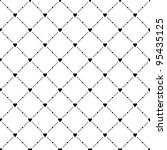 black seamless pattern with... | Shutterstock .eps vector #95435125