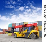 containers and stackers | Shutterstock . vector #95452210