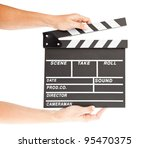 film clapper  board with space... | Shutterstock . vector #95470375