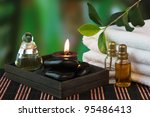 tools and accessories for spa...   Shutterstock . vector #95486413