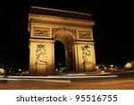 arc de triomphe  paris | Shutterstock . vector #95516755
