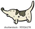 fat little dog cartoon  raster... | Shutterstock . vector #95526178