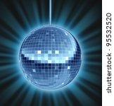 disco ball dance night as a...   Shutterstock . vector #95532520