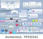 web elements vector design | Shutterstock .eps vector #95533162