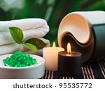 tools and accessories for spa... | Shutterstock . vector #95535772