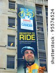 Постер, плакат: Ride to Conquer Cancer