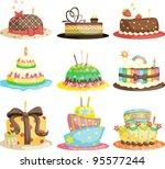 a vector illustration of... | Shutterstock .eps vector #95577244