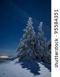 Starry Winter Night On The Pea...