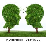 growth and communication... | Shutterstock . vector #95590339