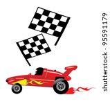 racing car | Shutterstock .eps vector #95591179