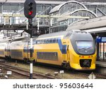 train in the station | Shutterstock . vector #95603644