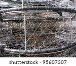 Stacks Of Crab Traps