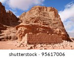 house of lawrence of arabia in... | Shutterstock . vector #95617006