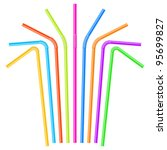 Colorful Drinking Straws....