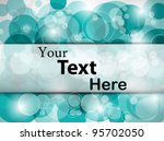 fantasy abstract card. vector... | Shutterstock .eps vector #95702050