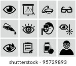 optometry icons set. | Shutterstock .eps vector #95729893
