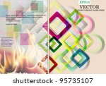 abstract background | Shutterstock .eps vector #95735107