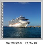 spinal bind from vacation album | Shutterstock . vector #9575710
