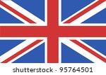 flag england | Shutterstock .eps vector #95764501