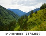 view of altai mountains.... | Shutterstock . vector #95782897