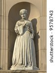 statue of florence nightingale  ... | Shutterstock . vector #9578743