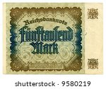 5000 mark bill of germany