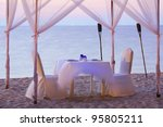 a good place for romantic... | Shutterstock . vector #95805211