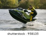 A Jet Skier Gets His Personal...