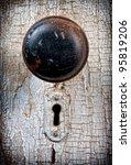 Rustic Vintage Doorknob On...