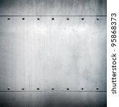 metal plate | Shutterstock . vector #95868373