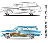 An Image Of A Station Wagon  ...
