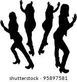 women in business | Shutterstock .eps vector #95897581