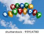 Colorful Happy Birthday...
