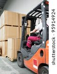 Warehouse Worker Driver In...
