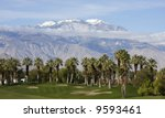 a golf course sits prettily in...   Shutterstock . vector #9593461