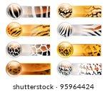 wild web banners | Shutterstock . vector #95964424