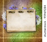 card for greeting or invitation ... | Shutterstock . vector #95969284