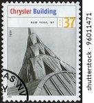 usa   circa 2005  postage stamp ... | Shutterstock . vector #96011471